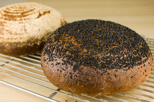 sourdough-flaxseed-bread-baked-e